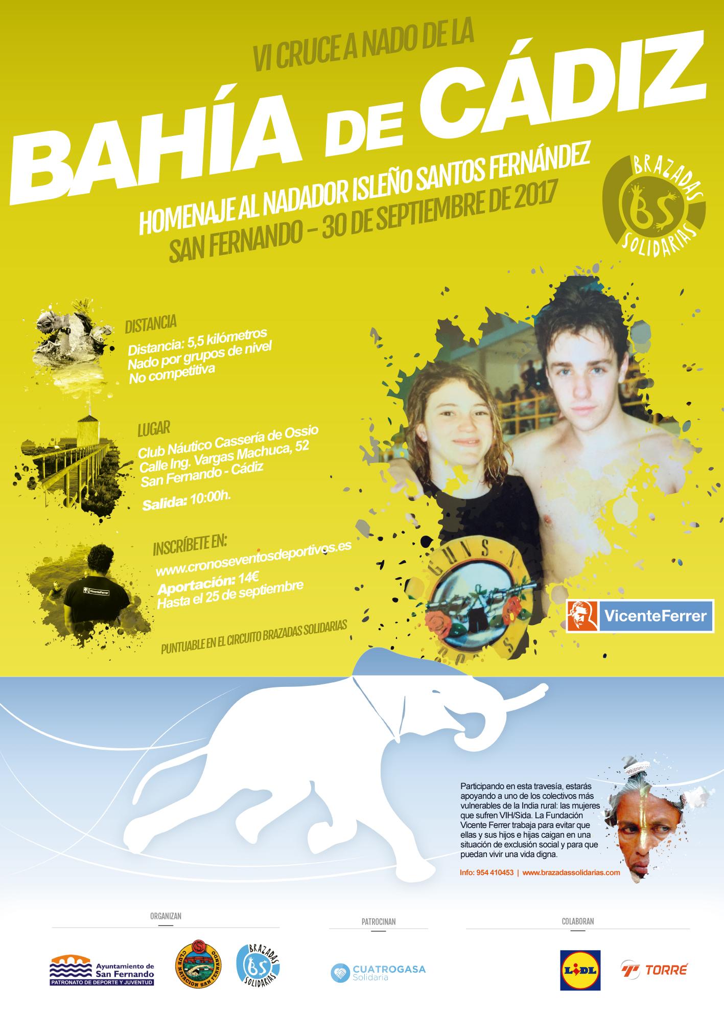 Cruce a nado de la Bahía de Cádiz