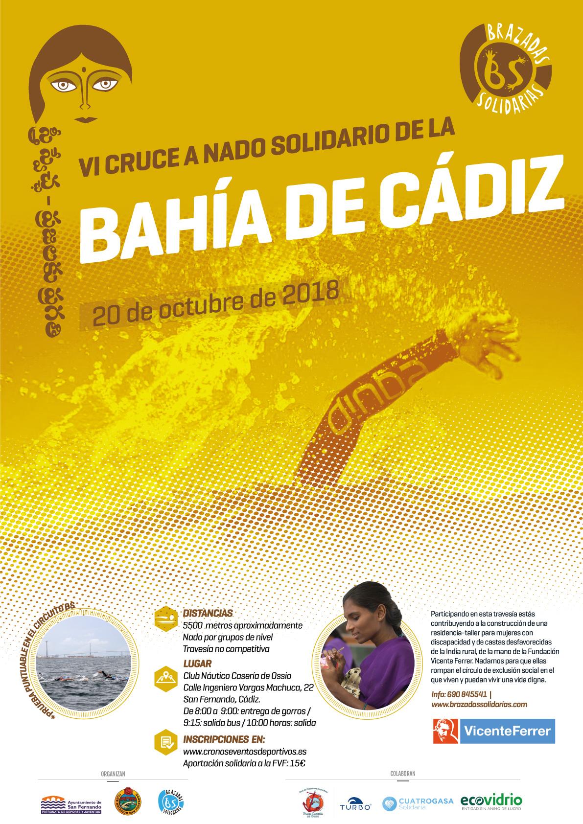 Travesía de la Bahía de Cádiz 2018
