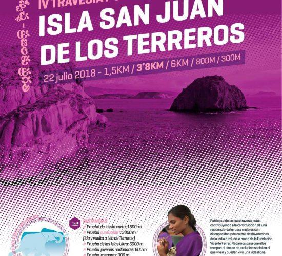 Travesía Isla San Juan de los Terreros Pulpí Almería