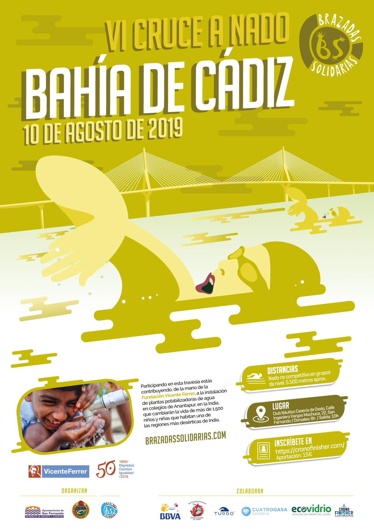 VI Cruce a nado de la Bahía de Cádiz