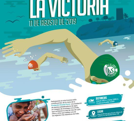 Travesía Brazadas Solidarias Rincón de la Victoria
